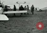 Image of French Nieuport 11 aircraft in World War I Verdun France, 1916, second 9 stock footage video 65675026069