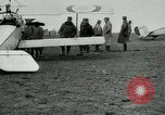 Image of French Nieuport 11 aircraft in World War I Verdun France, 1916, second 10 stock footage video 65675026069