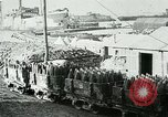 Image of rail cars with shells France, 1917, second 9 stock footage video 65675026070