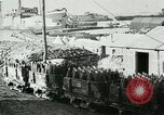 Image of rail cars with shells France, 1917, second 10 stock footage video 65675026070