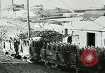 Image of rail cars with shells France, 1917, second 11 stock footage video 65675026070