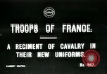 Image of French Regiment of Cavalry  France, 1915, second 1 stock footage video 65675026072