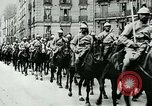 Image of French Regiment of Cavalry  France, 1915, second 7 stock footage video 65675026072
