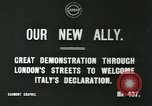 Image of British demonstration World War I London England United Kingdom, 1915, second 2 stock footage video 65675026073