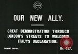 Image of British demonstration World War I London England United Kingdom, 1915, second 3 stock footage video 65675026073