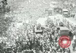 Image of British demonstration World War I London England United Kingdom, 1915, second 6 stock footage video 65675026073