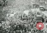 Image of British demonstration World War I London England United Kingdom, 1915, second 7 stock footage video 65675026073