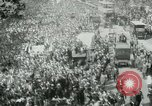 Image of British demonstration World War I London England United Kingdom, 1915, second 8 stock footage video 65675026073