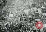 Image of British demonstration World War I London England United Kingdom, 1915, second 9 stock footage video 65675026073