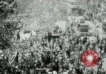 Image of British demonstration World War I London England United Kingdom, 1915, second 11 stock footage video 65675026073