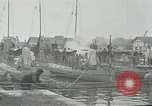 Image of Varna sea port Bulgaria, 1916, second 8 stock footage video 65675026075