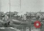 Image of Varna sea port Bulgaria, 1916, second 10 stock footage video 65675026075