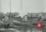 Image of Varna sea port Bulgaria, 1916, second 11 stock footage video 65675026075