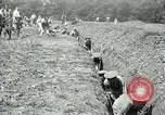Image of British soldiers digging trenches France, 1916, second 7 stock footage video 65675026076