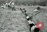 Image of British soldiers digging trenches France, 1916, second 10 stock footage video 65675026076