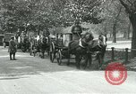 Image of Hyde park serves as wartime milk distribution center London England United Kingdom, 1915, second 11 stock footage video 65675026084
