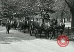 Image of Hyde park serves as wartime milk distribution center London England United Kingdom, 1915, second 12 stock footage video 65675026084