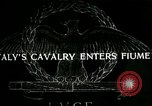 Image of Italy cavalry Fiume Italy, 1918, second 1 stock footage video 65675026091