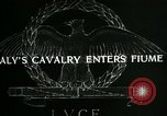 Image of Italy cavalry Fiume Italy, 1918, second 3 stock footage video 65675026091