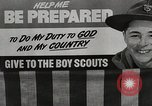 Image of boys scout troop Japan, 1942, second 2 stock footage video 65675026118