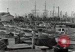 Image of fishermen's dock San Francisco California USA, 1942, second 4 stock footage video 65675026128