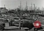 Image of fishermen's dock San Francisco California USA, 1942, second 6 stock footage video 65675026128