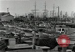 Image of fishermen's dock San Francisco California USA, 1942, second 7 stock footage video 65675026128