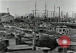 Image of fishermen's dock San Francisco California USA, 1942, second 8 stock footage video 65675026128