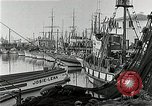 Image of fishermen's dock San Francisco California USA, 1942, second 9 stock footage video 65675026128