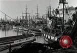 Image of fishermen's dock San Francisco California USA, 1942, second 10 stock footage video 65675026128