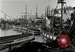 Image of fishermen's dock San Francisco California USA, 1942, second 11 stock footage video 65675026128