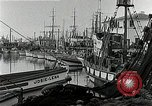 Image of fishermen's dock San Francisco California USA, 1942, second 12 stock footage video 65675026128