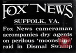 Image of moon shine Suffolk Virginia USA, 1921, second 2 stock footage video 65675026151