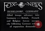 Image of reparation refusal Dusseldorf Germany, 1921, second 1 stock footage video 65675026152