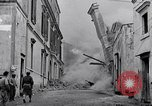 Image of people evacuating during Mount Vesuvius eruption Naples Italy, 1944, second 6 stock footage video 65675026169