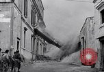Image of people evacuating during Mount Vesuvius eruption Naples Italy, 1944, second 7 stock footage video 65675026169