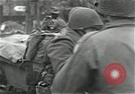 Image of leave for front Aldenhoven Germany, 1944, second 8 stock footage video 65675026194