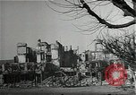 Image of ruins of city Saarlautern Germany, 1944, second 10 stock footage video 65675026210