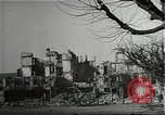 Image of ruins of city Saarlautern Germany, 1944, second 11 stock footage video 65675026210