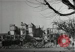 Image of ruins of city Saarlautern Germany, 1944, second 12 stock footage video 65675026210