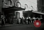 Image of New York City Town Hall Theatre and Carnegie Hall New York City USA, 1943, second 5 stock footage video 65675026222
