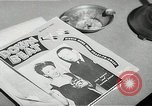 Image of Newspaper headlines Chicago Illinois USA, 1943, second 1 stock footage video 65675026230