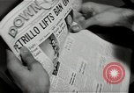 Image of Newspaper headlines Chicago Illinois USA, 1943, second 10 stock footage video 65675026230