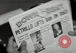 Image of Newspaper headlines Chicago Illinois USA, 1943, second 11 stock footage video 65675026230