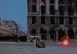 Image of bomb damaged buildings Berlin Germany, 1945, second 2 stock footage video 65675026247