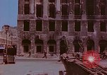 Image of bomb damaged buildings Berlin Germany, 1945, second 5 stock footage video 65675026247