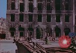 Image of bomb damaged buildings Berlin Germany, 1945, second 6 stock footage video 65675026247
