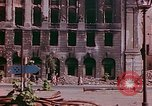 Image of bomb damaged buildings Berlin Germany, 1945, second 8 stock footage video 65675026247