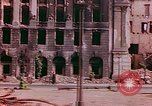 Image of bomb damaged buildings Berlin Germany, 1945, second 9 stock footage video 65675026247