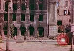 Image of bomb damaged buildings Berlin Germany, 1945, second 10 stock footage video 65675026247